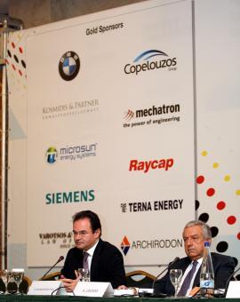 Giorgos Papakonstantinou, Minister für Umwelt und Energie in Griechenland