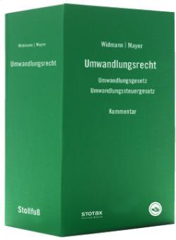 Der Widmann | Mayer - Umwandlungsrecht