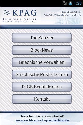 Kanzlei App - Blog