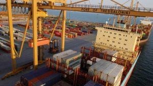 Hafen Thessaloniki